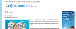 Cash Loan USA logo